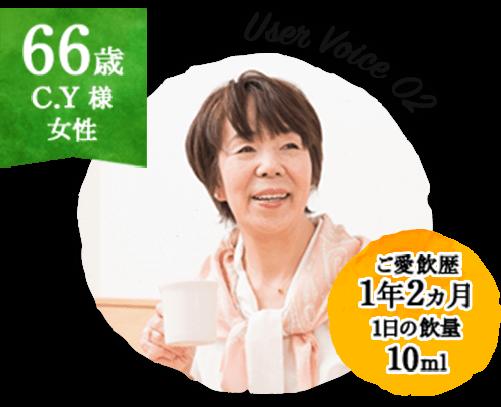66歳 C.Y様 女性